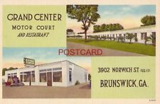 Grand Center Motor Court on U.S. 17 Brunswick, Ga. C L Rozier, Owner