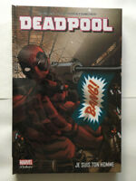 PANINI COMICS MARVEL DELUXE DEADPOOL JE SUIS TON HOMME 2016 NEUF EMBALLE