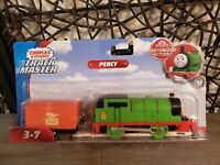 Thomas & Friends Trackmaster, Percy, Fisher-Price Motorized Action Toy Train-NEW