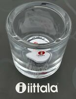 Iittala Finland KIVI 80 mm NEW Marimekko Discontinued candle holder Clear Votive