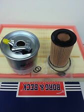 Sprinter 209 211 213 CDi Oil Air Fuel Filter Service Kit Borg Beck 2006-10 OPT 2