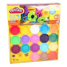 Play-Doh A4897 Spielknete Set SUPER COLOUR MEGA-SET mit Knete und viel Zubehör