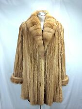 LADY REAL RUSSIAN GOLDEN SABLE LET OUT HALF COAT- LAVISH/  LUXURY/ FREE SHIPPING