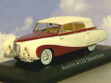 NOREV 1/43 DIECAST 1947 AUSTIN A125 SHEERLINE IN DARK RED & CREAM/IVORY 070013