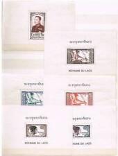Laos  1951  -  26 MNH Souv Sheets  Perf , Yvert# 1-26 - MNH - Suberb !