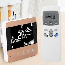 Electric Heating Thermostat LCD Digtal Temperature Controller Remote Control