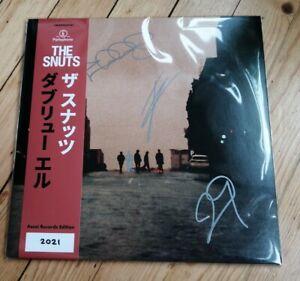 THE SNUTS - W. L. lp  signed obi strip new