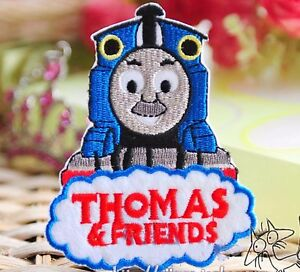 NEW THOMAS EMBROIDERED FABRIC IRON ON APPLIQUE PATCH BADGE