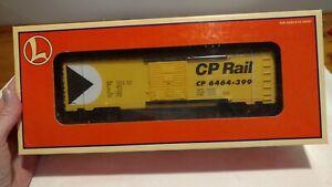 Lionel 6-29252. O-Scale 3-Rail CANADIAN PACIFIC 6464 BOXCAR. NEW IN BOX. 1996.