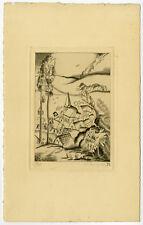 Antique Print-VILLAGE-LIMBURG-LANDSCAPE-Levigne-ca. 1950