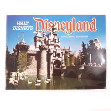 "Vintage Walt Disney's Disneyland Theme Travel Pictorial Souvenir Booklet 11.75"""