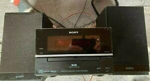 Sony CMT-BX70DBi Micro HiFi Component Shelf Stereo System CD DAB FM iPod