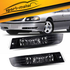 for 2000-2005 Chevy Impala Clear Lens Fog Lights Front Bumper Lamps w/Bulbs PAIR