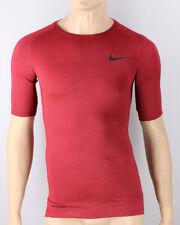 Nike Intimo Tecnico Amaranto maniche corte Maglia Termica Pro top tight