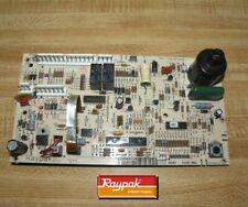 New listing Raypak Rp2100 Pool Heater Control Panel Pc Board 010253F used parts works Rheem