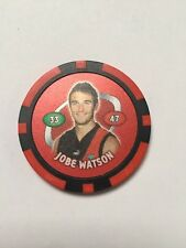 Jobe Watson Essendon Bombers AFL Poker Chip 2007 Toppz Chips