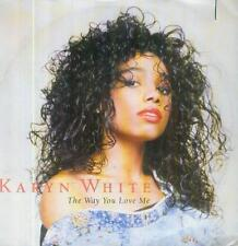 "7"" Karyn White/The Way You Love Me (D) Cut Out"