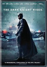 NEW The Dark Knight Rises DVD BATMAN Christian Bale Anne Hathaway BAT MAN MOVIE