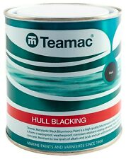 Teamac Metalastic Hull Blacking For Marine, Boats, Barges - 5 Litre