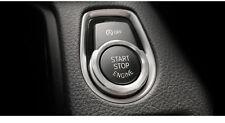 BMW serie F botón de inicio de aluminio cromo plateado ajuste de sonido envolvente F20 F30 F10