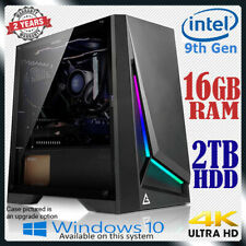 Intel Dual Core Computer 16GB RAM 2TB Home Office & Gaming Desktop PC i5 i7 upg