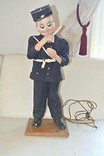 ancien   AUTOMATE  JAF  gendarme police poupée 60 cm