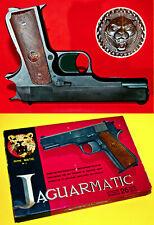 JAGUARMATIC LINE ☆ EDISON GIOCATTOLI OVP CAP GUN 60s AMORCES 26 SCHUSS PISTOLE