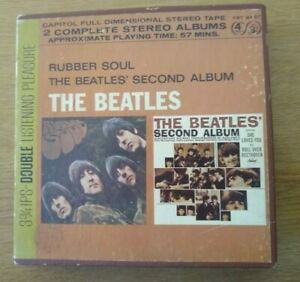 The Beatles Rubber Soul 1970. Reel To Reel Tape 3 3/4 IPS Capital 4 Track.