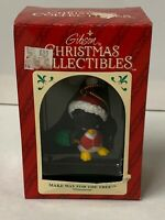 1994 Vintage Gibson Christmas Ornament Make Way for the Tree Penguin