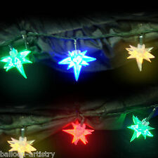 80 MULTI COLOUR Christmas Party STARBURST Light LED Lights Decoration