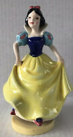 Vintage Disney Snow White Music Schmid Japan Collectible Musical Figurine