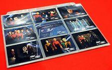 1994 SKYBOX STAR TREK THE NEXT GENERATION Season 1 COMPLETE BASE SET 1-108 MINT