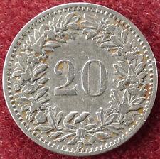 Switzerland 20 Rappen 1897 (D2004)