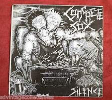 CONCRETE SOX Silence punk rock VG 45 Record 7""