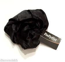 BABYLISS Paris - Black Satin Scrunchie Ponytail Hair Band BNWT