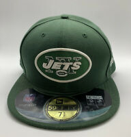 NWT New York Jets NFL New Era 59FIFTY Hat On Field Fitted Cap Size 7 5/8 60.6cm
