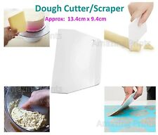 Dough Cutter Icing Scraper Kitchen tool Pastry Bowl divider bench Scrape Fondant