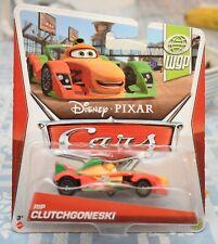 Disney Pixar Cars RIP CLUTCHGONESKI WORLD GRAND PRIX Series # 8 of 17 NEW