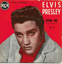 ELVIS PRESLEY Loving You N°1 EP 1957 Rock & Roll