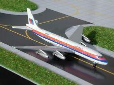 GEMINI JETS (GJUAL091) UNITED AIR LINES DC8-21 1:400 SCALE DIECAST METAL MODEL