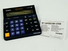 Casio DH-12TER 12 Digit Tax and Currency Desk Calculator Euro conversion