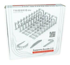 Trixbrix Supports Bundle 2.0 - 100% compatible with L E G O Trains