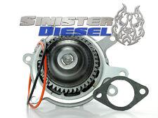 """Sinister Diesel """"Welded"""" Water Pump For 2006-2010 Duramax 6.6L LBZ LMM 6.6"""