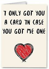 Cheeky Card, Husband Boyfriend Anniversary Valentines Wife Girlfriend Funny Joke