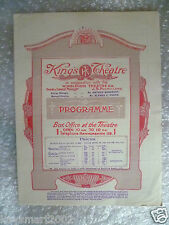 1923 King's Theatre Programme KING RICHARD THE THIRD-Baliol Holloway,M Colbourne