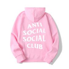 ANTI SOCIAL SOCIAL CLUB Hoodie Men&Women Hoodie Adults Long Sleeve Sweatershirt