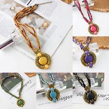 best Natural stone Pendant Necklace Fashion Lucky Charm Women beauty pendant