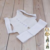 Posture Corrector Brace Shoulder Back Support Pain Relief Belt Magnetic Strap RA