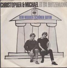 "Christopher & Michael BI BA butzemann/al vero belle 60`s single 7"""