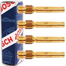 4x BOSCH Einspritzventil Einspritzdüse 0437502047 Mercedes W201 W123 W124 W126